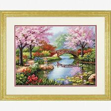 Dimensions - Counted Gold Cross Stitch Kit - Japanese Garden - D70-35313