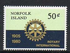 NORFOLK ISLAND MNH 1980 SG235 75TH ANV OF ROTARY INTERNATIONAL