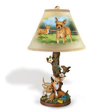 Charming Chihuahua Accent Table Lamp  -  Dog Bradford Exchange