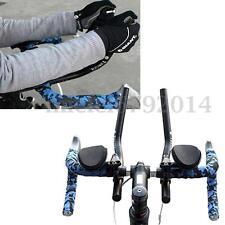 Cycling Bike Bicycle Alloy Triathlon Aero Rest Handlebar Clip Tri Bars Road MTB