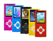 8GB 4th Generation MP3 Player for Music and Video with FM Radio