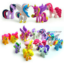 12Stk. My Little Pony Mein Kleines Pony Pferd Serie Sammlung Rainbow Dash Spike