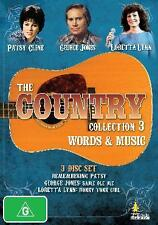 COUNTRY COLLECTION 3, THE: WORDS AND MUSIC , PATSY CLINE , GEORGE JONES , DVD