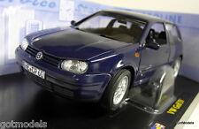 Revell 1/18 Scale 08945 9092 VW Volkswagen Golf GTi Mk IV Blue diecast model car