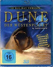 Dune , 2D and 3D Blu-Ray Edition , new and sealed , David Lynch , Sting