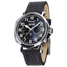 Ingersoll Automatik Armbanduhr Aurora IN1917SBK Vollkalender UVP 399