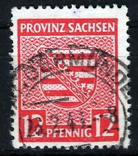 SBZ 79 Y, O, 12 Pf. Provinzwappen, WZ-steigend