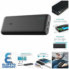 Anker 20000mAh Power Bank Portable Charger External Battery Fast Charging Iphone