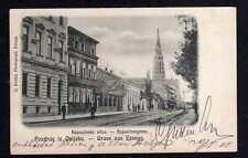 104414 AK Osijek Essegg Kroatien 1905 Kirche Straße Kappuzinergasse