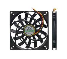 GA102325 Scythe Kaze Jyu SLIM 100mm 2000RPM Fan 3 & 4 Pin fits 92mm mounting