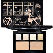 W7 Glow for Glory Face & Cheek Highlighter & Illuminating Eye Shadow Palette