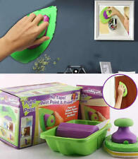 New Arrival Point and Paint w/ Large & Small Pads DIY Painting Kit Roller Set