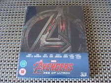 Blu Steel 4 U: Avengers Age Of Ultron : 3D & 2D Ltd Ed Steelbook 2 Discs Sealed