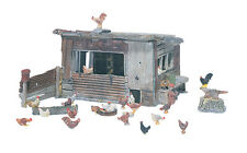 Chicken Coop , Model Trains HO Accessories - From Woodland Scenics