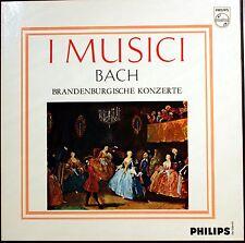 LP Box: IMUSICI 2 LPs Bach Brandenburgische Konzerte Philips 1986