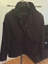 Ladies Barbour Jacket Black Size 12