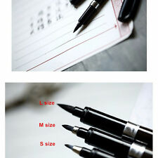 3 pcs/Lot Calligraphy Pen Material Brush For Signature Learning Stationery