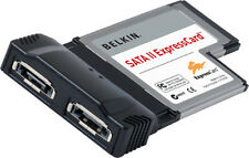 SATA II 2-Port Express Card S4 54mm BELKIN Laptop Notebook Serial ATA CardBus