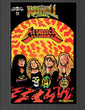ROCK N' ROLL COMICS #2 METALLICA 1st print NM