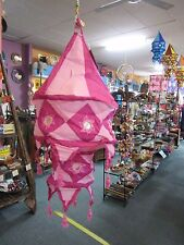 Traditional Indian Handicraft Ethnic Cotton Mobile Lamp Shade Boho Hippie Small