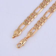 Vintage Mens chain bracelet free shipping Gold filled Fashion Womens