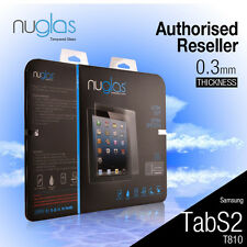 Genuine Nuglas Tempered Glass Screen Protector for Samsung Galaxy Tab S2 T810