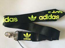 Adidas Lanyard NEW  - UK Seller - Black Yellow
