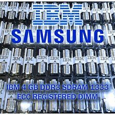 IBM 49Y1430 16GB DDR3-1333 PC3-10600 Registered RAM BladeCenter Server 4x4GB NEW