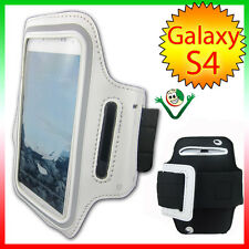 Armband band arm Sport for Samsung Galaxy SIV i9505 S4 case WHITE