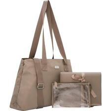 Brand New OROTON - Nylon Baby Bag ( Taupe ) $345 + Gift Box