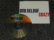 BOB GELDOF CRAZY UK 1994 VERTIGO 1 TRACK PROMO CD
