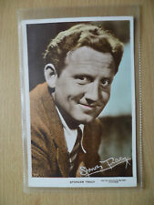 Cinema Star Real Photo Postcard- SPENCER TRACY with Autograph (printed) No. 70