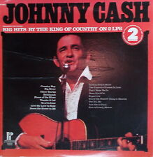 2LP Johnny Cash ‎Big Hits By The King Of Country,VG++,cleaned,Pickwick USA