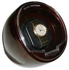 NEW Diplomat Watch Winder BROWN Color Single Automatic  With Built In IC Timer