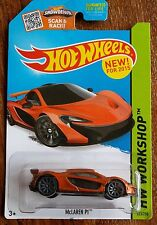 Hot Wheels McLaren P1 Orange #223 of 250