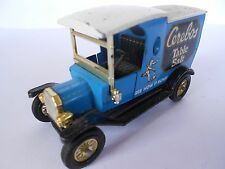 TOY DELIVERY VAN - FORD MODEL T - MATCHBOX MODELS OF YESTERYEAR - BLUE