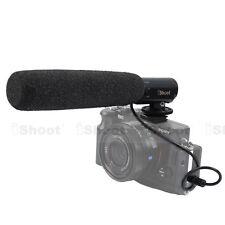 DC/DV Microphone f Sony DSC-RX1/RX1R&3.5mm MIC Universal Hot Shoe Digital Camera