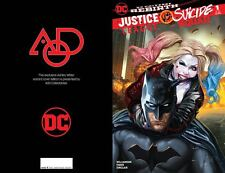 JUSTICE LEAGUE VS SUICIDE SQUAD #1 SET OF 3 AOD COLLECTABLES COVERS PRE-ORDER DC