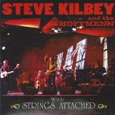 STEVE KILBEY AND THE HOFFMENN WITH STRINGS ATTACHED - RARE!!! LIVE CD THE CHURCH