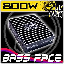 Bass Face DB2.1 2 Channel 800w Black Bridgeable Car Speaker Stereo Amplifier Amp