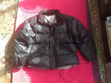 Next, N-X Sport Black Padded Feather Duvet Puffa Jacket, L