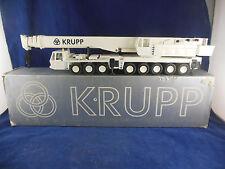 Conrad Ref. 2077 Krupp 250T 8 Axle Mobile Crane in White Scale 1:50