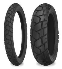 Shinko E705 Dual Sport Pair 170/60-17 & 120/70-19 Tyres BMW GS1200 Touring