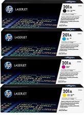 4 ORIGINAL TONER HP 201A Color LaserJet Pro M252dw M252n MFP  M274n M277dw M277n