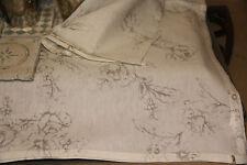 Artefina Tischläufer Läufer Rose weiss Grau 40x140 cm Klassisch