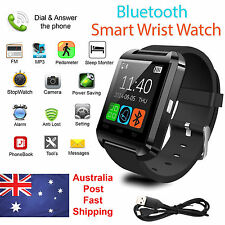 AU 2017 Bluetooth Smart Watch Phone Mate For Android & iOS iPhone Samsung HTC LG