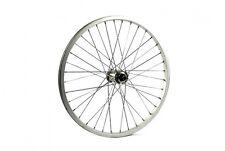 20 X 1.75 BMX Silver Single Speed Rear Wheel