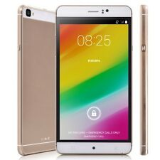 "AU 6.0"" Unlocked Quad Core Smartphone Android 5.1 IPS GSM 3G Cell Phone Dual SIM"