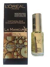 L´Oreal Nagelpflege Nagelöl LA Manicure Nagellack Neu - Nutri Oil loreal