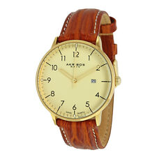 AKRIBOS XXIV Champagne Dial Gold-tone Stainless Steel Men's Watch